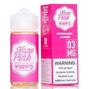 Vape Pink E-Liquid - Whipp'd - 100ml / 0mg