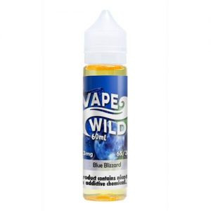 VapeWild eJuice - Blue Blizzard - 60ml / 0mg