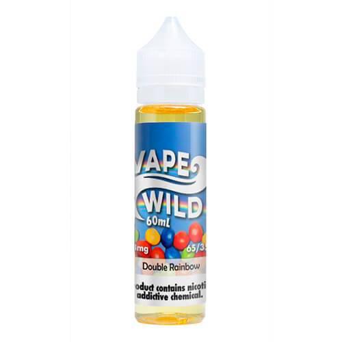 VapeWild eJuice - Double Rainbow - 60ml / 0mg