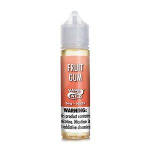 VapeWild eJuice - Fruit Gum - 60ml / 0mg