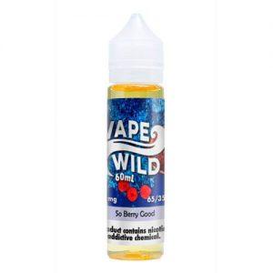 VapeWild eJuice - So Berry Good - 60ml / 0mg