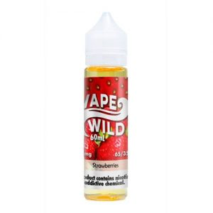 VapeWild eJuice - Strawberries - 60ml / 0mg
