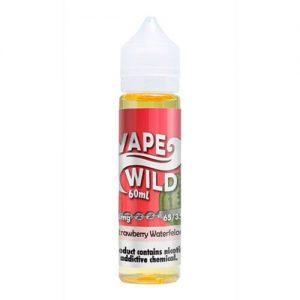 VapeWild eJuice - Strawberry Waterfelons - 60ml / 0mg