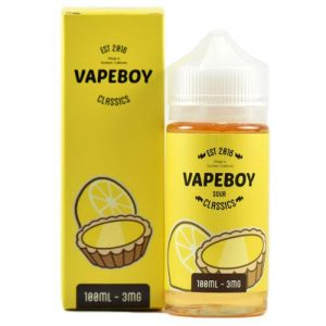 Vapeboy Classics eJuice - I Tart Lemon - 100ml / 0mg
