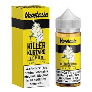 Vapetasia eJuice - Killer Kustard Lemon - 100ml / 0mg