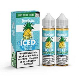 Vapetasia eJuice ICED - Pineapple Express - 2x60ml / 0mg