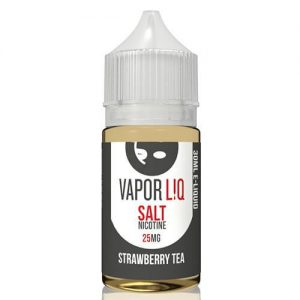 Vaporliq Salts eJuice - Strawberry Tea - 30ml / 10mg