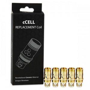 Vaporesso Ceramic cCell SS 316L Coil 0.6ohm (5 Pack) - Default Title