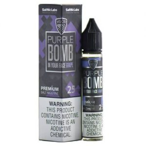 VGOD and SaltNic eJuice - Purple Bomb - 30ml / 50mg
