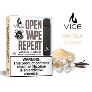 Vice - Portable/Disposable Device - Vanilla Custard (3 Pack) - 3 Pack / 50mg