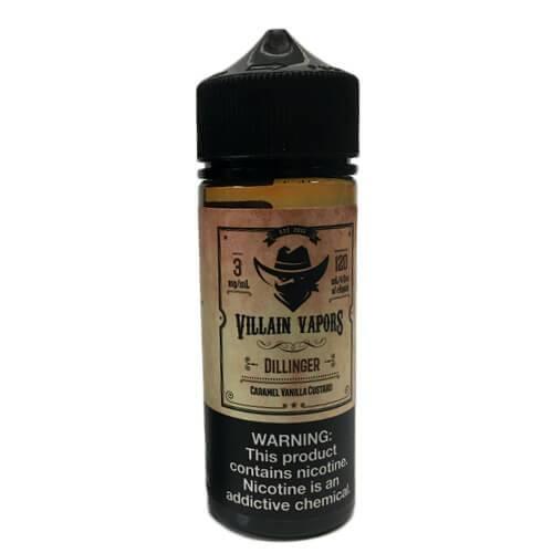 Villain Vapors - Dillinger - 120ml / 0mg
