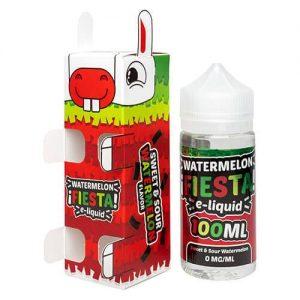 Watermelon Fiesta E-Liquid - Sweet and Sour Watermelon - 100ml / 6mg