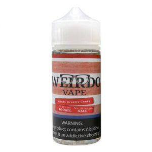 Weirdo Vape - Nerdy Creamy Candy - 100ml / 0mg