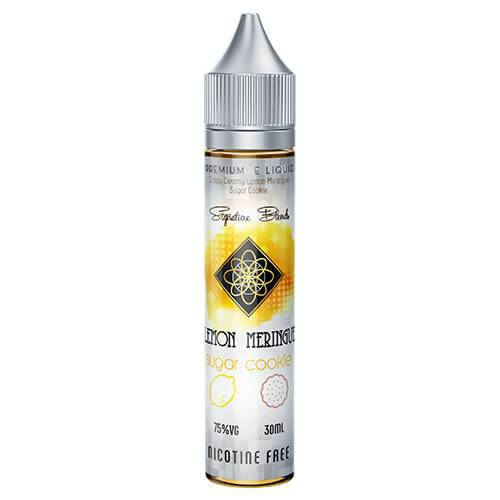 Signature Blends by West Coast Mixology - Lemon Meringue Sugar Cookie - 30ml / 3mg