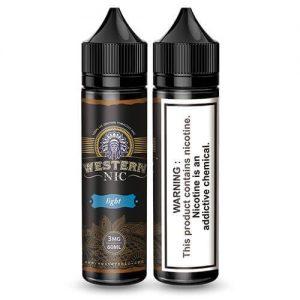Western Nic eLiquids - Light Tobacco - 60ml / 0mg