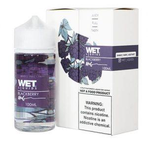 Wet Liquids - Blackberry eJuice - 100ml / 0mg