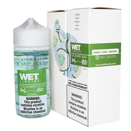 Wet Liquids ICED - Cucumber Crush ICED eJuice - 100ml / 0mg