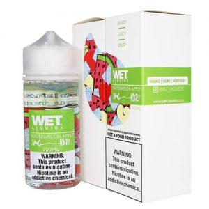 Wet Liquids ICED - Watermelon Apple ICED eJuice - 100ml / 0mg