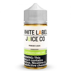 White Label Juice Co - Butterscotch Caramel Cake - 100ml / 0mg