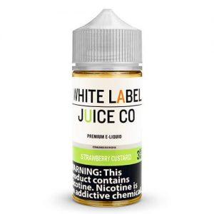 White Label Juice Co - Strawberry Custard - 30ml / 0mg