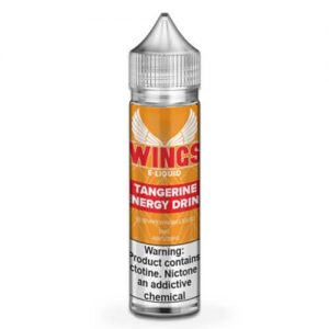 Wings E-Liquid - Tangerine Energy Drink - 60ml / 0mg
