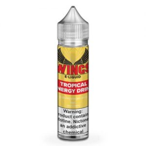 Wings E-Liquid - Tropical Fruits Energy Drink - 60ml / 0mg