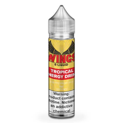 Wings E-Liquid - Tropical Fruits Energy Drink - 60ml / 0mg