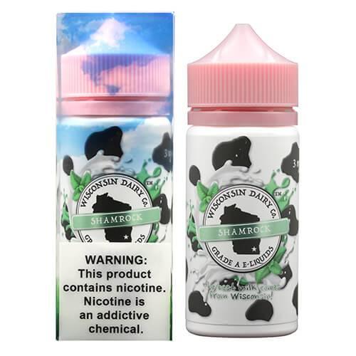 Wisconsin Dairy Co. E-Liquids - Shamrock - 100ml / 0mg