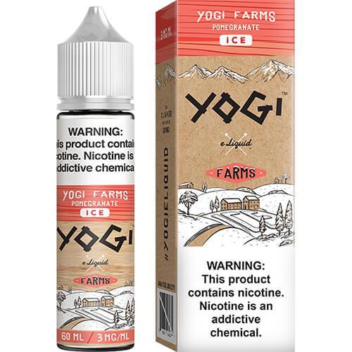 Yogi Farms - Pomegranate on ICE - 60ml / 0mg