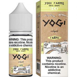 Yogi Farms SALTS - White Grape on ICE - 30ml / 35mg