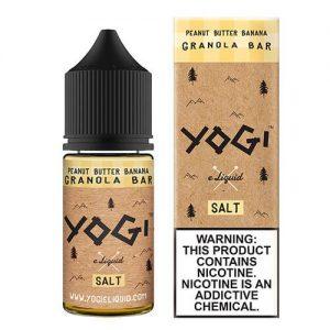 Yogi ELiquid Salts - Peanut Butter Banana Yogi Salt - 30ml / 35mg