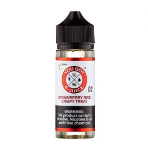 You Got E-Juice - Strawberry Rice Crispy - 60ml / 0mg