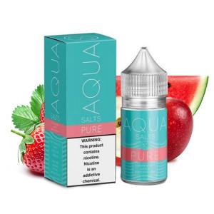Aqua Pure Nicotine Salt E-Liquid (30mL)