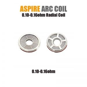 Aspire Radial Coil (ARC Technology - 0.10/0.16ohm) (3-pack) - Default Title