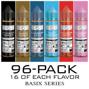 Basix Series by Glas E-Liquid - Double Intro Pack - 96x60ml / 0