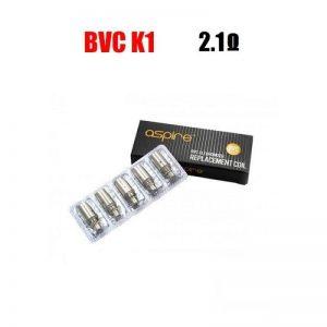 Aspire BVC K1 Coils - 2.1 ohm (5.0-6.0V)
