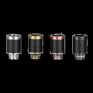 Carbon Fiber Drip Tip (Wide Bore) - Brass