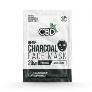 CBDfx Charcoal Hemp Face Mask