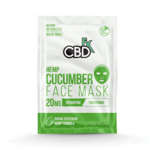 CBDfx Cucumber Hemp Face Mask