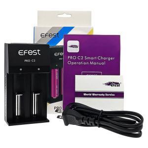 Efest PRO C2 2-Slot Vape Battery Charger