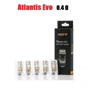 Aspire Atlantis Evo Coils - 0.4 ohm (40-50W) - Default Title