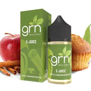 GRN CBD Apple Cinnamon CBD Vape Juice