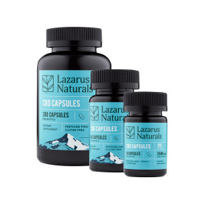 Lazarus Naturals Full Spectrum Hemp Extract Capsules
