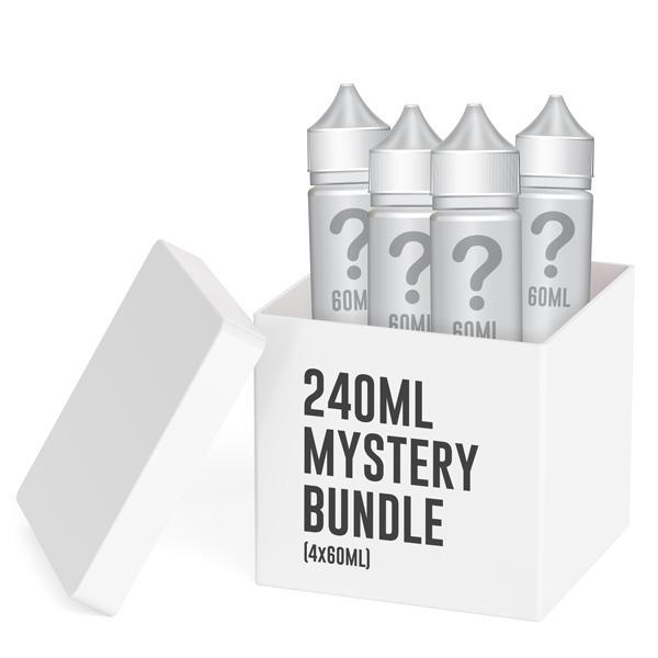 240ml Mystery Bundle (4x60ml) - 4x60ml / 3mg
