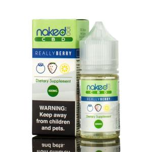 Naked 100 Amazing Really Berry CBD Vape Juice (30mL)