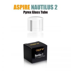 Aspire Nautilus 2 Pyrex Glass Tube (Replacement Glass) - Default Title