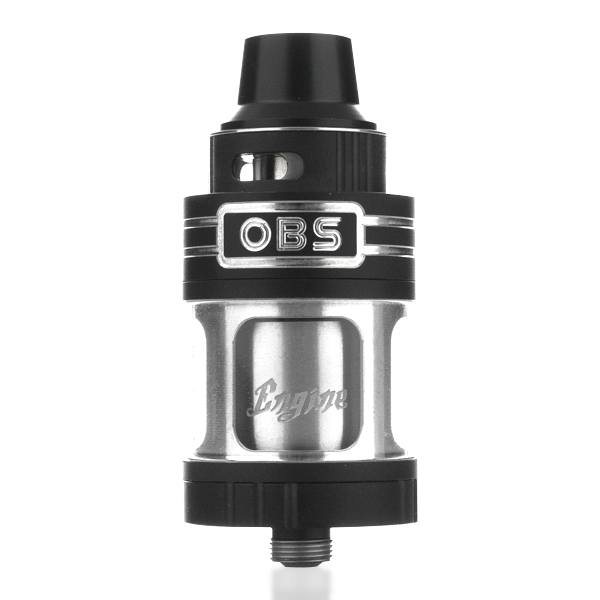 OBS Engine RTA Rebuildable Tank Atomizer 5.2ML - Black