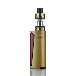 SMOK PRIV V8 60W TC Vape Starter Kit - Gold/Red