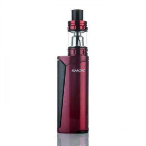 SMOK PRIV V8 60W TC Vape Starter Kit - Red/Black