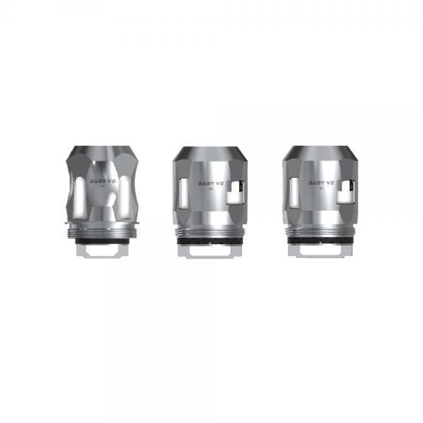 SMOK TFV8 Baby V2 Tank Replacement Coils (3-Pack) - A3 V2 0.15 ohm / 7-Color